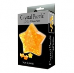 "Пазл (Puzzle) ""CRYSTAL PUZZLE Звезда 3D"" - 38 деталей"