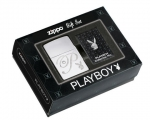 Зажигалка Zippo Playboy Pin & Lighter Gift Set артикул 24778