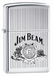 Зажигалка Zippo Jim Beam High Polish Chrome артикул 24551