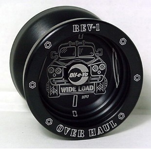 Йо-Йо (Yo-Yo) DIF-e-YO Rev-1 Over Haul Black