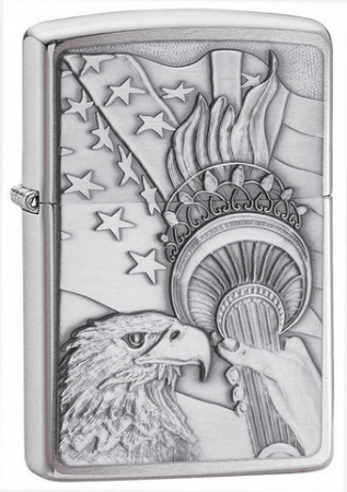 Зажигалка Zippo Something Patriotic Eagle Emblem артикул 20895