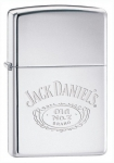 Зажигалка Zippo Jack Daniel's High Polish Chrome артикул 250JD.321